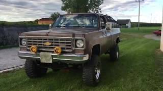 Chevrolet K20 4x4 Monster Truck V8