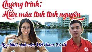 Chương trình Hiến máu tình nguyện Thu Hồng 2018 - Hoa khôi sinh viên Việt Nam