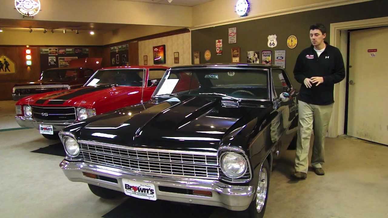 1967 Chevy Ii Nova Black For Sale