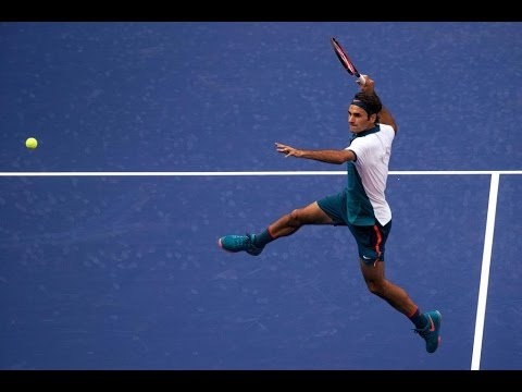Roger Federer - Us Open 2015 (HD)
