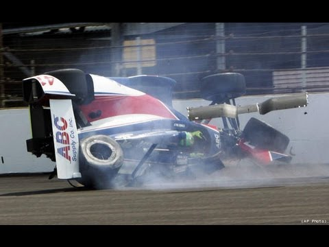 Conor Daly Indy 500 Airborne Practice Crash