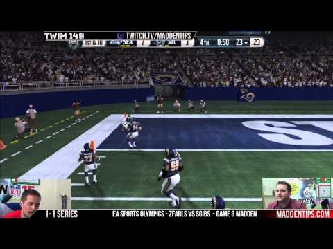 This Week In Madden 149 - EA Sports Olympics - ZFarls Vs SGibs
