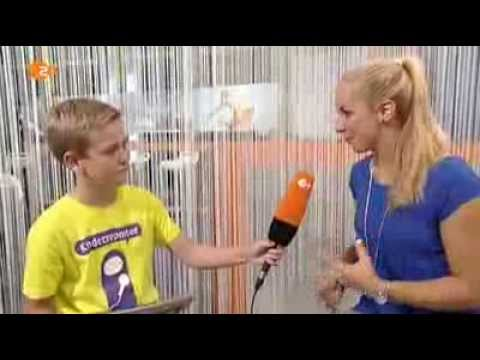 Sabine Lisicki (WTA Tennis Player) Interview With Luis Trifft On 2DF