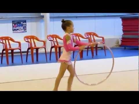 Художественная гимнастика Маркова Алина 2006 г. р. ОБРУЧ  6 лет