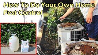 How To Do Your Own Home Pest (Bug) Control - Talstar P