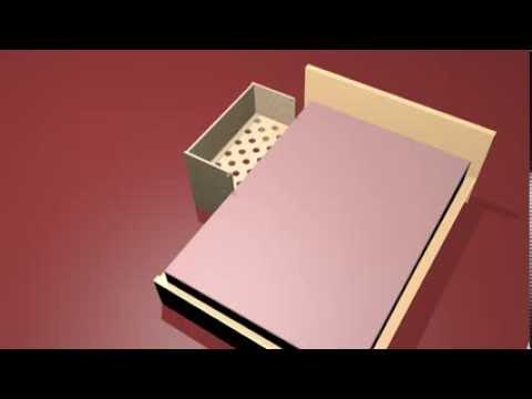 baby beistellbett lilledroem f r malm betten von ikea animation youtube. Black Bedroom Furniture Sets. Home Design Ideas