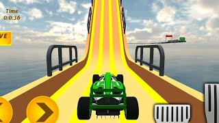 Mega Ramp Car Stunts impossible tracks 3d game - Formula ramp car stunts 2020