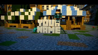 Top 10 Animated Minecraft Blender, After Effects & Cinema 4D intro Template 2015 + FREE Download