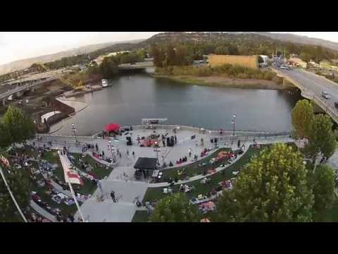 Napa City Nights - 37th Parallel - Aerial Music Video