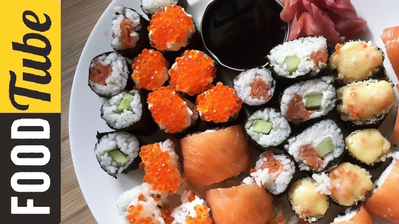 Как запекать суши в домашних условиях 497