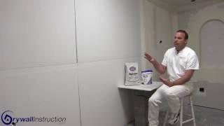 Hot mud basics - Drywall Instruction