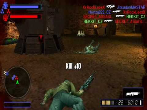 Resistance retribution psp online multiplayer CZ-Community second clan training video
