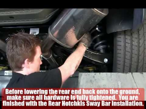 2010 Camaro SS Rear Sway Bar Install - Hotchkis Sport Suspension
