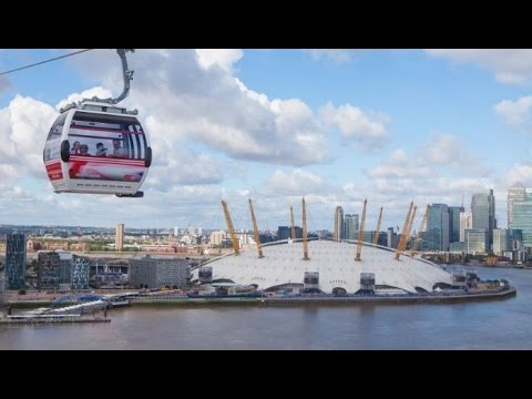 View of London Thames from Cable Car Emirates Air Line: SYED's Tourism