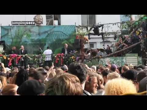 Should I Stay or Should I Go - Mick Jones with Rotten Hill Gang at Notting Hill Carnival 2012