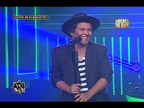 Bruno Mars enloqueció a sus fans cantando Just the way you...