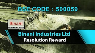 Insolvency Resolution Reward   Binani Industries Ltd   Ultratech   Stocks and Shares   Share Guru