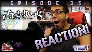 BLACK CLOVER EP. 35 REACTION + Predictions!! | MY GOD YAMI!!