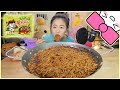 5 BLACK BEAN FIRE NOODLES in 10 MINUTES CHALLENGE!!