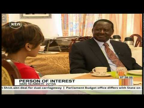 Person of Interest 26th May 2015 Raila Odinga's Private life in details