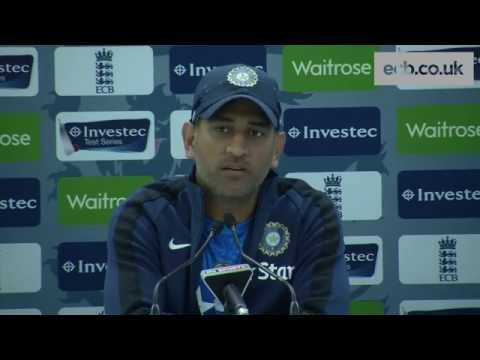 India captain MS Dhoni previews fifth Investec Test match