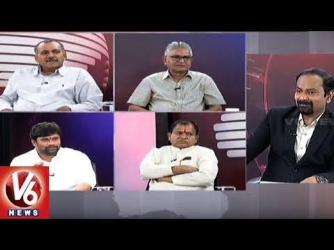 Special Debate Over Karnataka Voters Verdict On Assembly Polls | Good Morning Telangana | V6 News