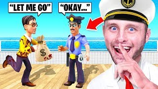 I CHEATED And BRIBED A COP (The Ship)