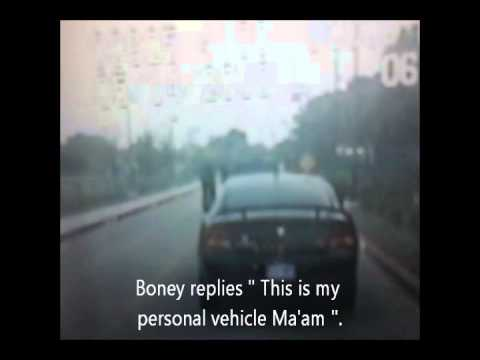 Eastfield College Police Officer Boney's Illegal Traffic Stops