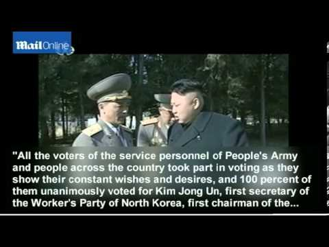 Kim Jong Un wins North Korea election with 100% of the vote