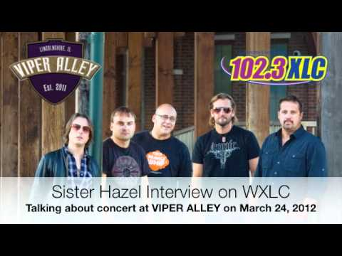 Sister Hazel interview on WXLC before concert at VIPER ALLEY in Lincolnshire, IL