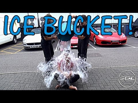 ALS Ice Bucket Challenge: Supercars of London Style