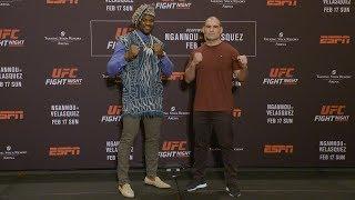 UFC Phoenix: Todas as encaradas do Media Day