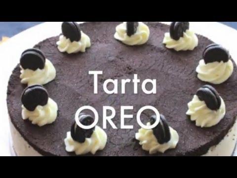 Tarta de Galletas Oreo - Recetas de Tartas