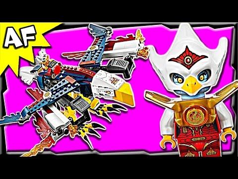 Eris' FIRE EAGLE FLYER 70142 Lego Legends of Chima Stop Motion Review