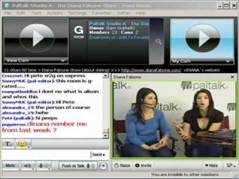 Paltalk Presents Diana Falzone on Paltalk.com