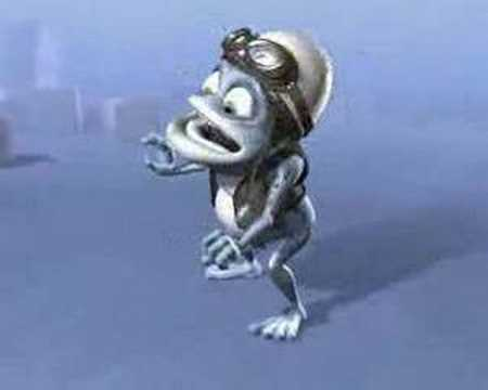crazy frog original video.