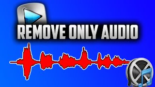 How To Remove Audio Or Video In Sony Vegas 13 | Delete Audio Or Video |