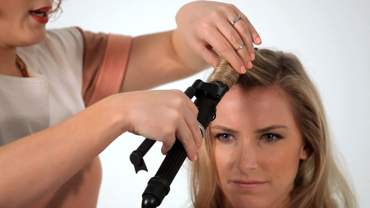 How To Use A Curling Iron Hair Tutorials Youtube