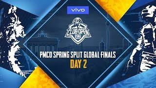 [Hindi] PMCO Global Finals Day 2 | Vivo | PUBG MOBILE CLUB OPEN
