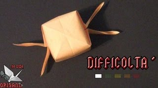 Dude's Daily Origami - Boccino D'oro (tutorial In Italiano)