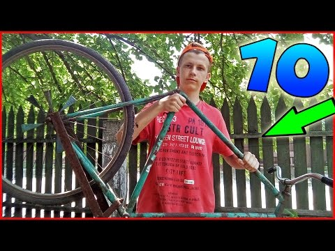 10 НАИЛУЧШИХ ЛАЙФХАКОВ С ВЕЛОСИПЕДОМ