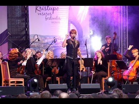 Alexander Rybak - Christopher Summer Festival concert, Vilnius 11.09.2013