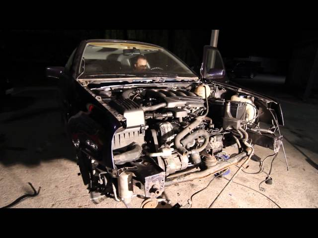 VW Golf 16V Syncro first start