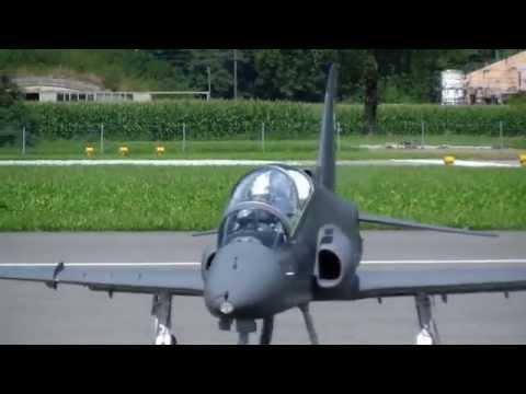 RC BAe Hawk MK51 Modell Turbine Jet Pilot P.Makela JWM 2013