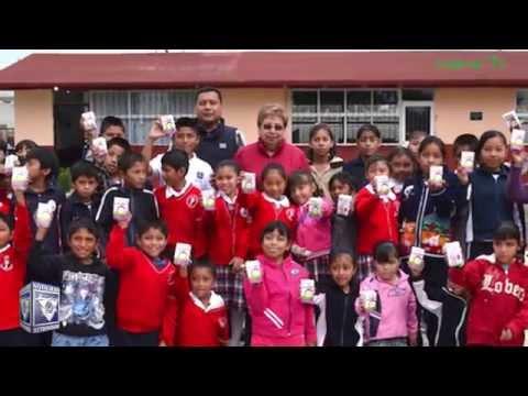 Presidenta del DIF Tepeji visita escuelas beneficiadas con programa alimentario