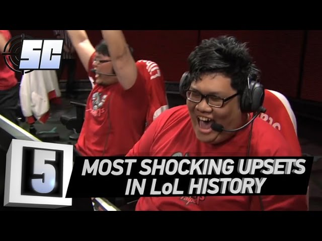 5 Most Shocking Upsets in LoL History | LoL eSports