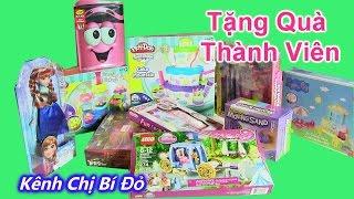 ❤Mở Thùng Đồ Chơi Khổng Lồ Chuẩn Bị Mini Game Tặng Quà Thành Viên [chị bí đỏ] - Give away toys
