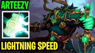 LIGHTNING SPEED - Arteezy Wraith King - Dota 2