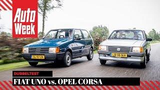 Fiat Uno vs. Opel Corsa - AutoWeek Review