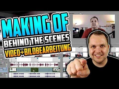 SO ENTSTEHT EIN YOUTUBE VIDEO - Bild- und Videobearbeitung - MAKING OF (2/2)